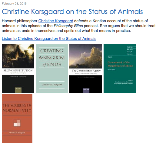 korsgaard on kant On christine korsgaard's aristotle and kant on the source of value tamar schapiro.